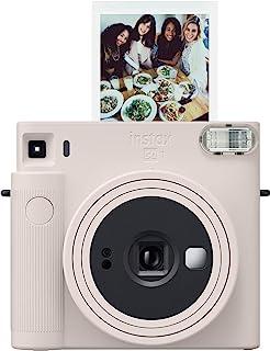 Fujifilm 富士 Instax 方形 SQ1 即时相机 - 粉笔白色 (16670522)