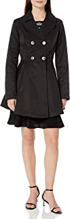 Lark & Ro Women's Fit and Flare Trench Coat Coat