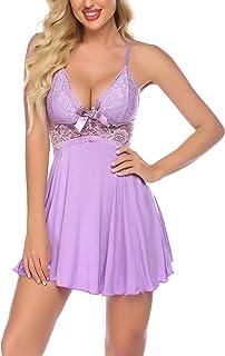 Avidlove 女式内衣性感睡衣蕾丝娃娃装连衣裙睡衣