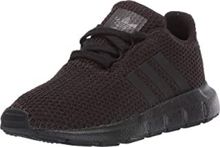 adidas 阿迪达斯 Originals 中性儿童 Swift 跑鞋 黑色/黑色/黑色 5 Toddler