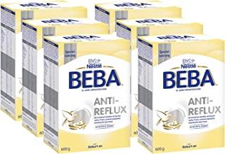 雀巢 BEBA AR,抗回流特殊食物,初始牛奶,从出生起,6 包(6 x 600 克)