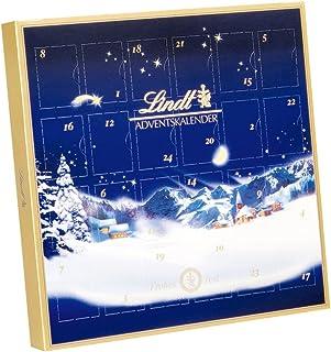 Lindt & Sprüngli 瑞士莲 巧克力迷你圣诞日历, 梦幻圣诞, (2 x 115 g)