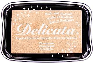 Rayher 29187617 Delicata 金属印台,羊绒金色,9.9 x 6.8 x 1.9 厘米,尺码 L