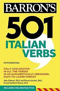 501 Italian Verbs (Barron's 501 Verbs) (English Edition)