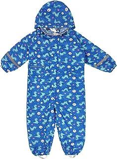 Vine 儿童连体雨衣男孩女孩防水雨衣幼儿雨衣连体衣适合 2-8 岁儿童
