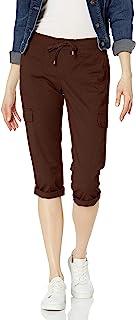 Chaps 女式棉质斜纹七分裤