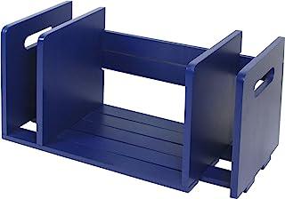 雅马达 书立 滑动式 395から735mm 藏青色