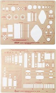 Pickett Design Component Master 模板,每套 2 个模板,每套 1 套 (1617I)