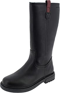 Geox 女童 Big_Kid ECLAIRGIRL 11 黑色靴子