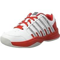 K - Swiss 性能男女皆宜的儿童 Court Impact LTR Carpet 网球鞋