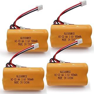 GLESOURCE 3.6V 900mAh 退出标志应急灯电池替换件 适用于 Exitronix 10010037、Max Power B2-0031 MH468886、Unitech LEDR-1 6200RP、Dantona CUSTOM-...