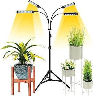 带支架的生长灯 Surpsun LED 室内植物落地生长灯 全光谱生长灯 带定时器 用于种子 自动开 / 关 可调节支架和鹅颈