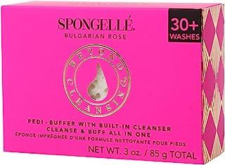 Spongellé Pedi-Buffer - 清洁、去角质和抛光脚 - 保加利亚玫瑰