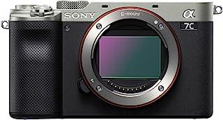 Sony 索尼 Alpha 7C 全框无反光相机 - 银色 (ILCE7C/S)