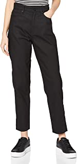 G-STAR RAW 女士 超高腰及踝直筒妈妈牛仔裤
