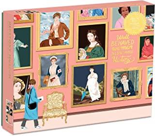 Galison Herstory 博物馆拼图,1,000 片 - 拼图采用Ana San Jose许可的艺术品,带有闪亮、铝箔装饰 - 厚实、坚固的拼块,很棒的礼物创意,多色,20 x 27 英寸(约 50.8 x 68.58 厘米)