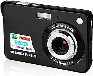 数码相机 2.7 英寸(约 6.9 厘米)高清相机,适用于背包的迷你数码相机袖珍相机,带变焦的紧凑型相机,用于摄影