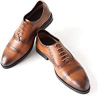 BlueSea商务皮鞋 真皮 真皮鞋 直脚 装饰孔 日本设计 BS-001 男士