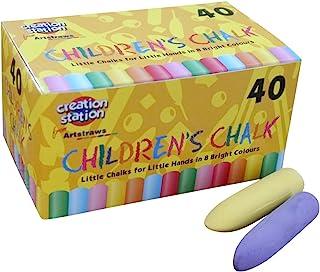 Art Straws AM552 彩色粗粉笔