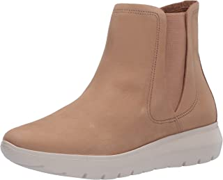 Brothers United 女士皮革巴西制造奢华切尔西靴,带运动鞋鞋底