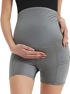 Bhome 孕妇瑜伽短裤 运动打底裤 健身运动服 孕妇短裤