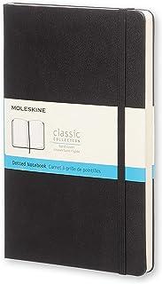 Moleskine 黑色硬面虚线笔记本 (大型)