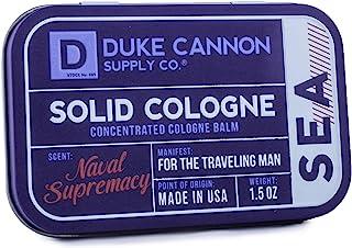 Duke Cannon 男士纯色 Cologne,1.5 盎司 Naval Supremacy 1.5 Ounces