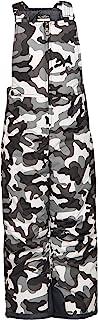 Arctix 婴幼儿胸部高雪围兜工装裤,A6 迷彩黑色,4T