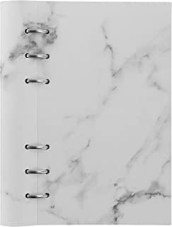 Filofax B143001 可填充档案纸剪贴簿,个人尺寸,大理石