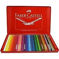 Faber-castell 辉柏嘉 红铁盒装36色 水溶性彩色铅笔 (115937:36支/盒)