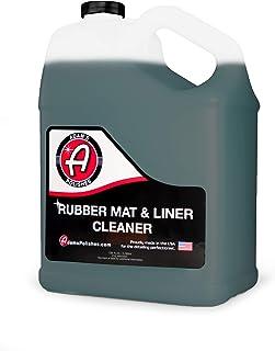 Adam's 橡胶垫和衬垫清洁剂(加仑)– 保护剂和橡胶地板垫清洁液,适用于汽车细节   深层清洁和修复垫、卡车床货物衬垫、后备箱垫配件等