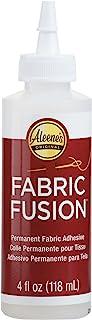 Aleene's Fabric Fusion 永久性粘合剂,4 盎司