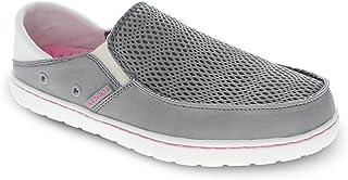 Body Glove 女式休闲船鞋 || Aruba 涉水鞋 || (女式涉水鞋,钓鱼鞋,船鞋 | 女式网眼和帆布一脚蹬鞋)