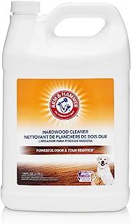 Arm & Hammer PET 新鲜硬木清洁剂 - 130 盎司(约 3.6 升),130 盎司(约 3.6 升)替换装