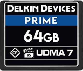 Delkin Devices 64GB Prime CompactFlash VPG-65 内存卡 (DDCFB105064G)