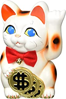 Ale-net风水基本款 白色 13.5×14×21cm 杜尔猫