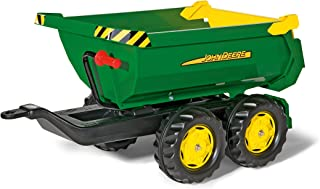 rolly toys 122165 弗朗兹刀具John Deere 巨型半管拖车