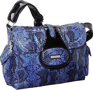 Kalencom Diaper Bag, Elite Python Delph Blue