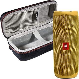 JBL FLIP 5 便携式音箱 IPX7 防水便携式音箱 带 WRP 豪华硬壳外壳(黄色)