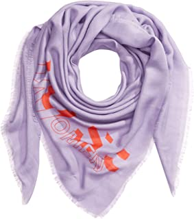 BOSS 女式 Natini 混色围巾 带印花标志