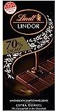 Lindt 瑞士莲 Lindor 70%黑巧克力,10件促销装(10 x 100g)