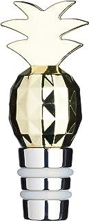 BarCraft 葡萄酒瓶搭扣,金属,金色