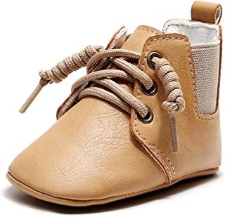 女婴靴子防滑保暖冬季短靴及踝高级莫卡辛学步鞋