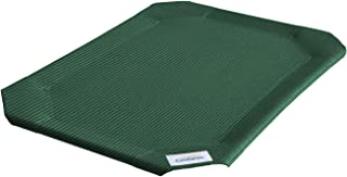 Coolaroo Elevated Pet Bed Replacement Cover, Green 绿色 大