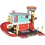 Dickie Toys 消防员山姆消防站,消防队玩具套装,2层,包括金属木星+其他配件,尺寸:45x23 厘米