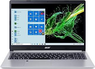 Acer 宏碁 Aspire 5 A515-55-56VK,15.6 英寸全高清IPS显示屏,*0代英特尔酷睿i5-1035G1,8GB DDR4,256GB NVMe SSD,WiFi 6,高清网络摄像头,指纹识别器,背光键盘,Windows...