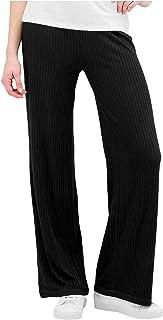 PIECES 女士长裤,宽松版型
