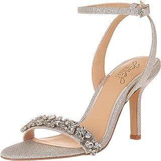 Jewel Badgley Mischka 女式装饰凉鞋高跟