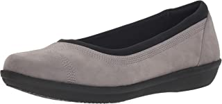 Clarks Ayla 女士低跟芭蕾舞平底鞋