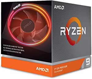 AMD Ryzen 9 Wraith Prism 处理器+散热器 3900x 4.6GHz AM4 70MB